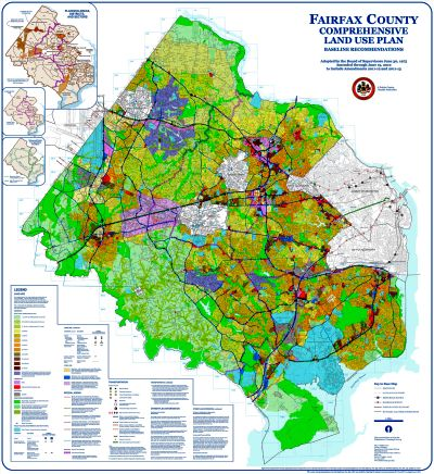 thumbnail image of Fairfax County Comprehensive Plan Map